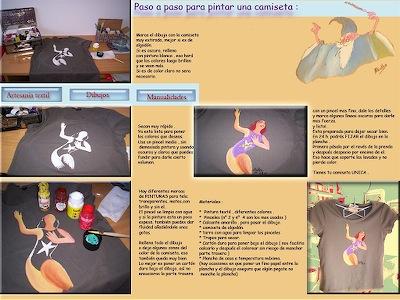 Alialba-Paso a paso pintar playeras