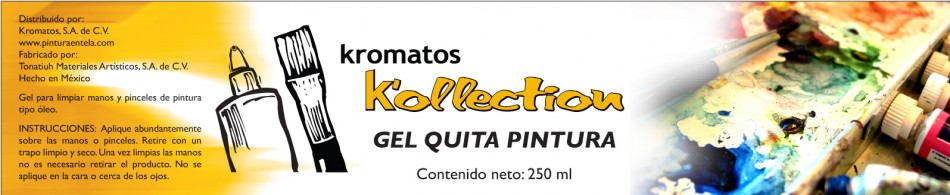 Kromatos Gel Quita Pintura